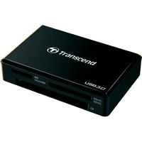 Transcend RDF8 USB 3.0 card reader - front